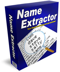 Personalize your email marketing with Name Extractor
